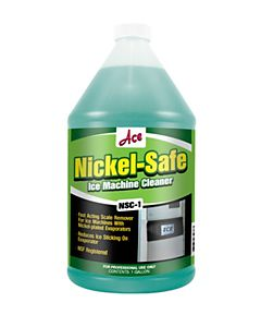 ACE - NSC-1 - Nickel Safe Ice Machine Scale Cleaner 1 Gallon Bottle (minimum order of 4)