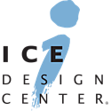 baker distributing ice design center logo