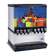 beverage dispensers, water and soda machines
