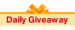 mobile app daily giveaway banner