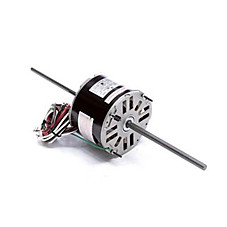 hvac double shaft motors