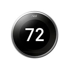 hvac nest wifi thermostats