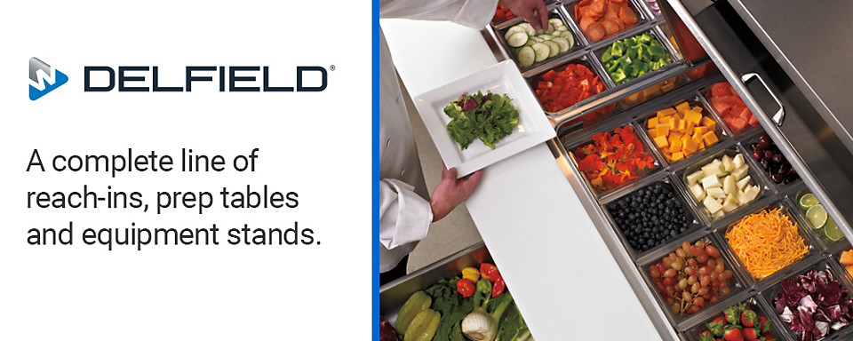 delfield refrigerated foodservice equipment available at Baker Distributing Company