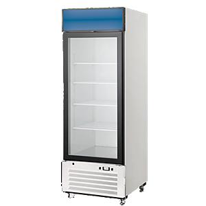 delfield refrigerated glass door merchandisers