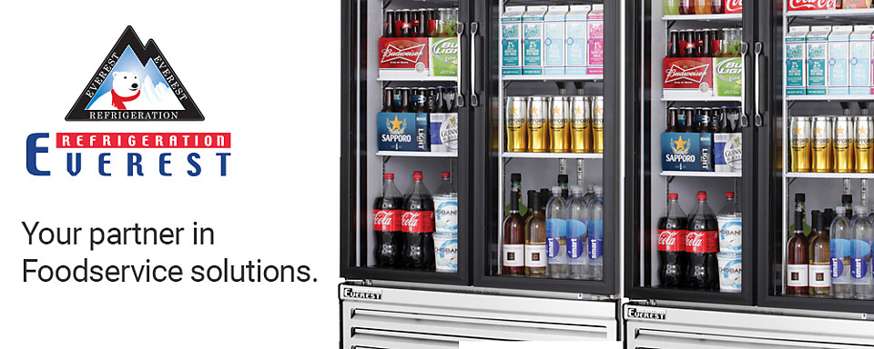 everest refrigerated foodservice equipment available at Baker Distributing Company