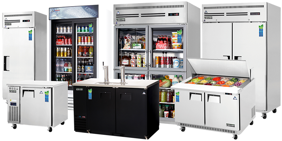 everest reach-ins, merchandisers, undercounters, chef bases, bar equipment, food prep tables available at baker distributing company.