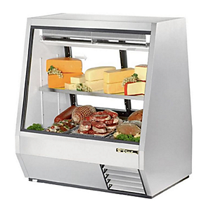 true refrigerated deli cases and display cases
