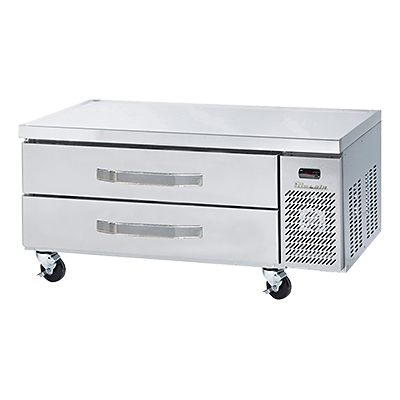 refrigerated chef bases and equipment stands.