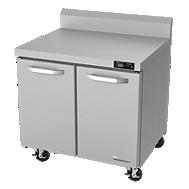 refrigerated worktops and freezer worktops