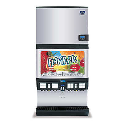 manitowoc ice multiplex FRP flavr pic ice and beverage dispensers
