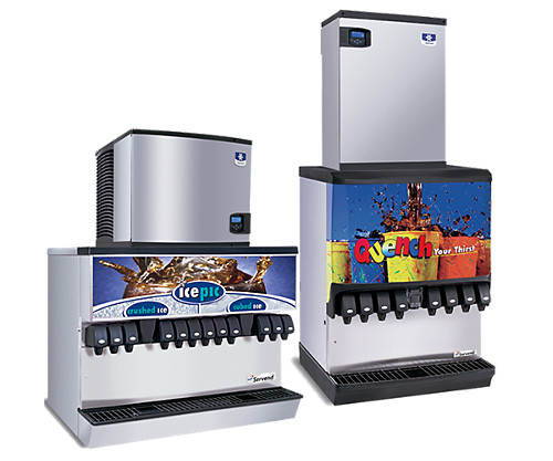 manitowoc ice multiplex ice and beverage dispensers