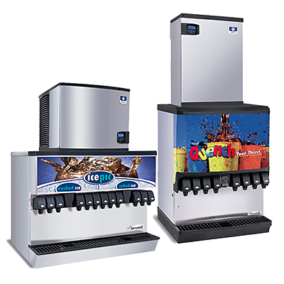 ice and beverage dispensers