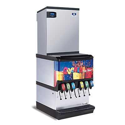 manitowoc ice multiplex sv seres ice and beverage dispenser