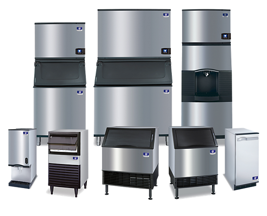 manitowoc ice. ice machines available at baker distributing company