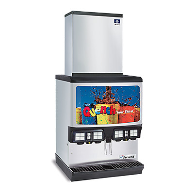 manitowoc ice multiplex frp series ice and beverage dispenser