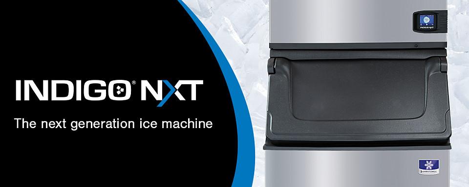 manitowoc ice indigo nxt cuber ice machines