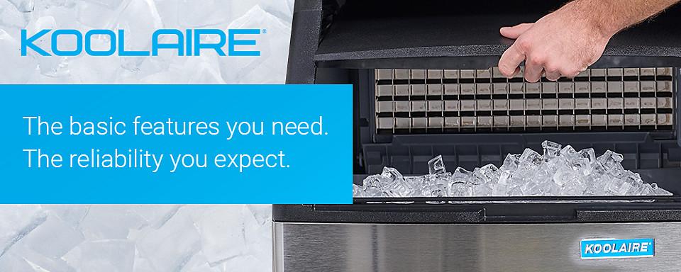 manitowoc ice koolaire cuber ice machines