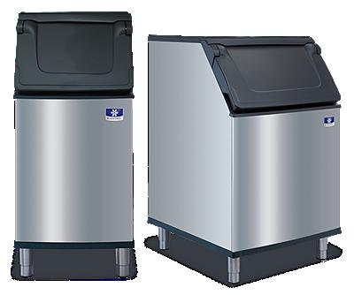 manitowoc ice. ice storage bins.