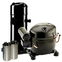 hvac/r compressors and compressor parts