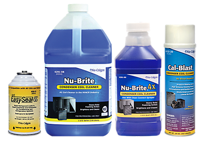 nucalgon hvacr chemicals and cleaners