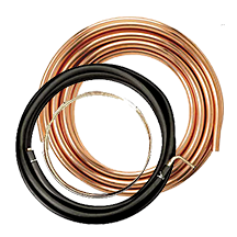 hvac/r copper tubing,  copper line sets and copper fittings