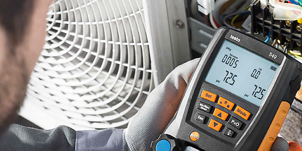 HVAC pressure testing instruments