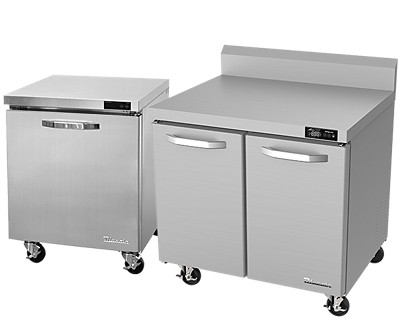 blue air undercounter refrigerators and freezers. blue air worktops refrigerators and freezers.