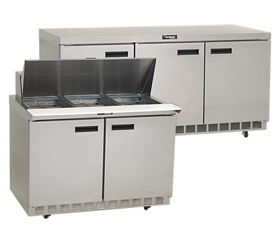 delfield 4400 Series salad top refrigerated bases
