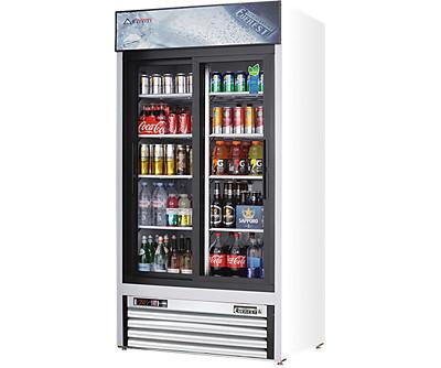 Everest EMGR glass door merchandiser refrigerators