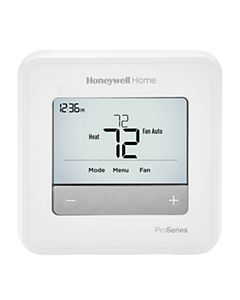 Honeywell - TH4110U2005/U - T4 Pro Thermostat, Programmable or Non-Programmable, 1H/1C