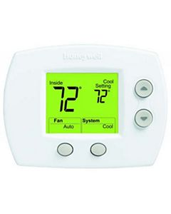 Honeywell - TH5110D1022/U - Focuspro 5000 Non-Programmable Thermostat (Ge: 2H/2C Hp: 3H/2C)