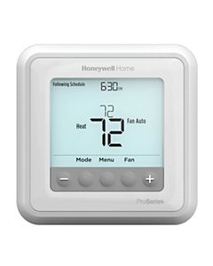 Honeywell - TH6210U2001/U - Programmable Thermostat up to 2 Heat/1 Cool Heat Pumps or 1 Heat/1 Cool Conventional Systems