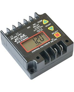 ICM Controls - ICM492 - Digital single-phase line voltage monitor; fully programmable with 5-fault memory