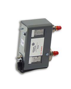 "Johnson Controls - P170LB-1C - Dual Pressure Control; 20""/100 PSIG lbs 5 Bu Range 100/425 PSIG HS;"