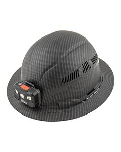 Klein Tools® - 60347 - Hard Hat, Class C with Lamp