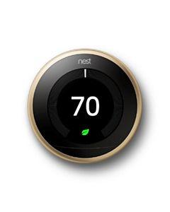 Nest - T3032US - Nest Learning Thermostat - Brass