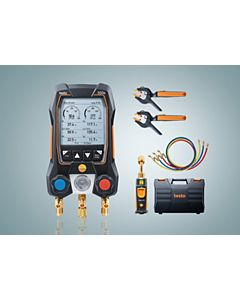 testo - 0564 5505 01 - testo 550s Smart Digital Manifold with Vacuum and Hoses