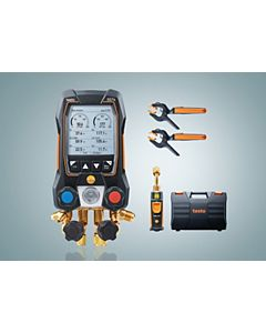 testo - 0564 5571 01 - testo 557s Smart Digital Manifold with Vacuum