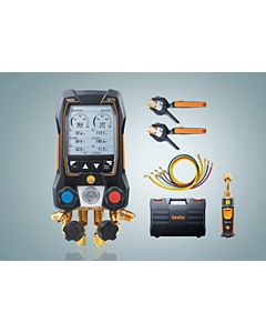 testo - 0564 5572 01 - testo 557s Smart Digital Manifold with Vacuum and Hoses