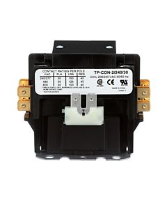 TRADEPRO® - TP-CON-2/240/30 - 2 Pole 240 Volt 30 Amp Contactor