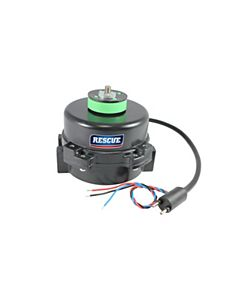 """U.S. Motors - EC5414E - 4-25W HP, 1550 RPM, 115/230V, RESCUE® ECM Refrigeration Motor 3.5"""" Body Diameter 51 Frame (TEAO)"""